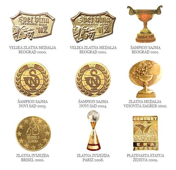 Vukoja nagrade